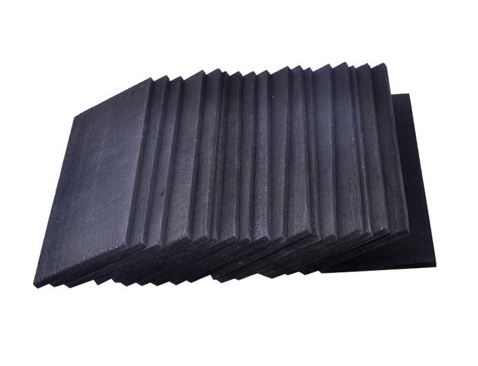 black softened linden slat